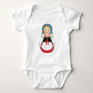Polish Girl Matryoshka Infant Creeper