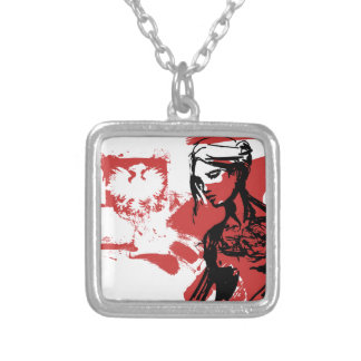 Polish Girl Silver Plated Necklace