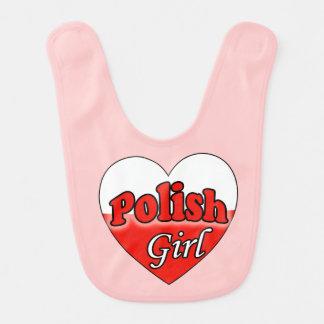 Polish Girl Baby Bib