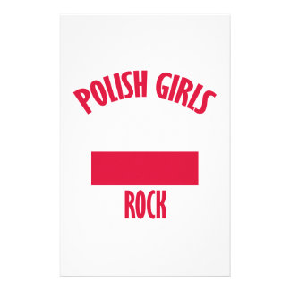 Polish girls rock DESIGNS Stationery