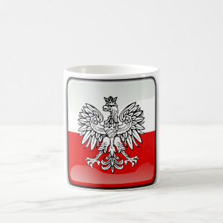 Polish glossy flag coffee mug
