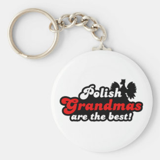 Polish Grandmas Key Chain