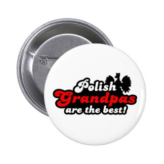 Polish Grandpa Pinback Button