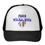 "Polish Great Grandmother ""Wielka Busia"" Trucker Hats"