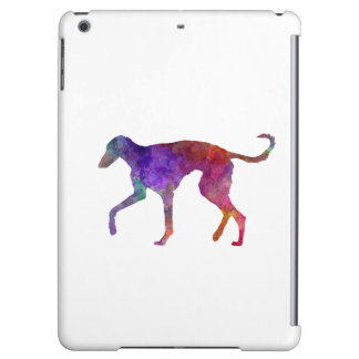 Polish Greyhound in watercolor Cover For iPad Air