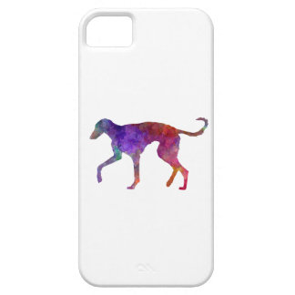 Polish Greyhound in watercolor iPhone SE/5/5s Case