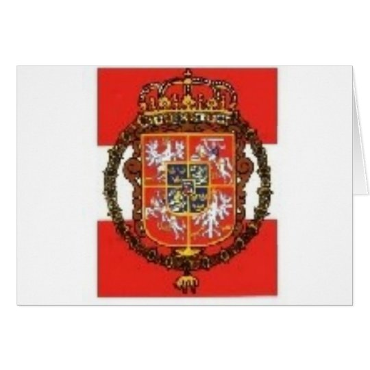 POLISH HERALDRY CARD
