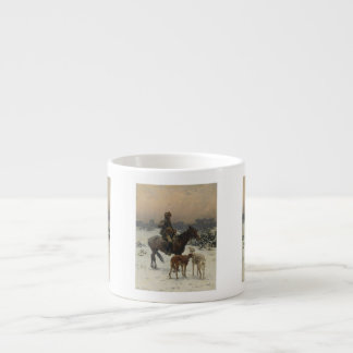 Polish Hunter on Horseback Espresso Cup