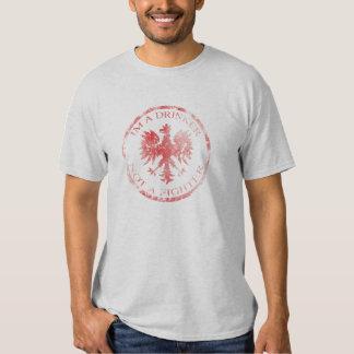 Polish Im a drinker not a fighter shirt