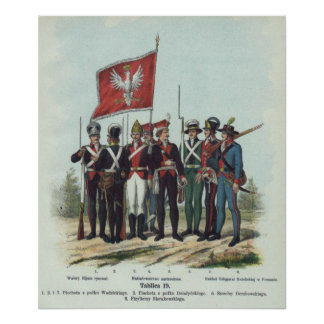 Polish Infantry Poster