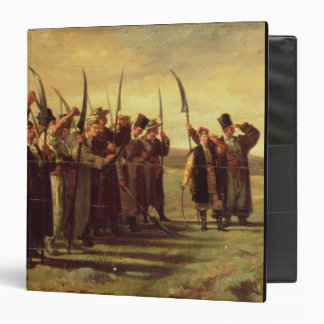 Polish Insurrectionists of the 1863 Rebellion (oil Binder