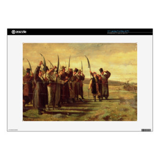 "Polish Insurrectionists of the 1863 Rebellion (oil Decal For 15"" Laptop"