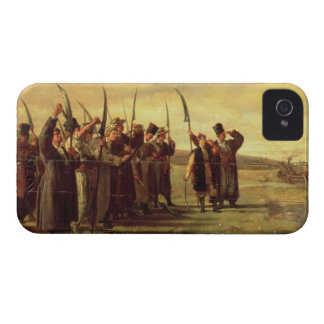 Polish Insurrectionists of the 1863 Rebellion (oil iPhone 4 Case-Mate Case