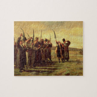 Polish Insurrectionists of the 1863 Rebellion (oil Jigsaw Puzzle