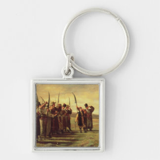 Polish Insurrectionists of the 1863 Rebellion (oil Keychain