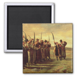 Polish Insurrectionists of the 1863 Rebellion (oil Magnet