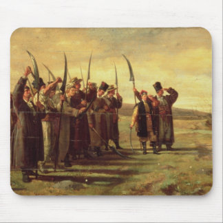 Polish Insurrectionists of the 1863 Rebellion (oil Mouse Pad