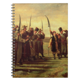Polish Insurrectionists of the 1863 Rebellion (oil Notebook