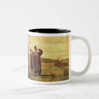 Polish Insurrectionists of the 1863 Rebellion (oil Two-Tone Coffee Mug