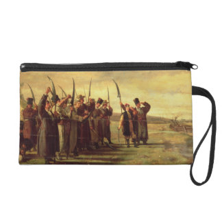 Polish Insurrectionists of the 1863 Rebellion (oil Wristlet