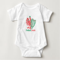 Polish Irish Baby Bodysuit