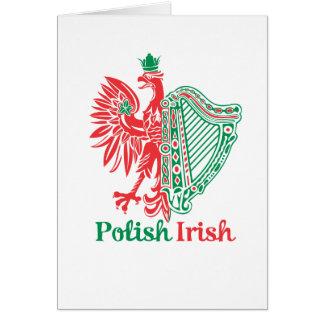 Polish Irish Card