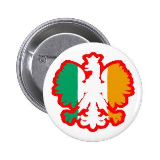 POLISH/IRISH FLAG PINS