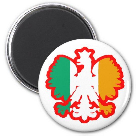 POLISH/IRISH FLAG MAGNET