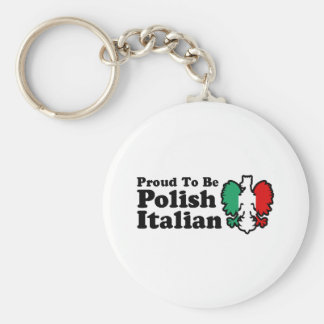 Polish Italian Keychain