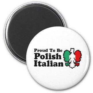 Polish Italian Magnet