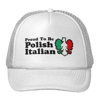 Polish Italian Trucker Hat