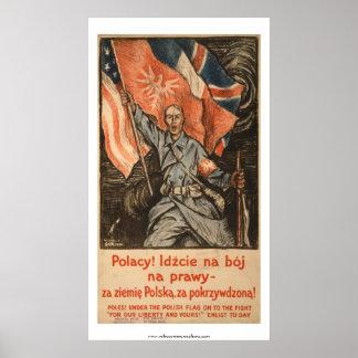 Polish Language WWI Poster