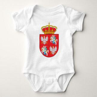 Polish Lithuanian Commonwealth Coat of Arms Baby Bodysuit