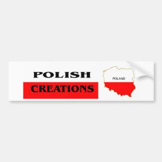 Polish Logo 1 Car Bumper Sticker