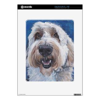 polish lowland sheepdog 11x14 scan skin for the iPad