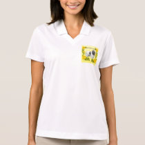 Polish Lowland Sheepdog and Yellow Roses Polo Shirt