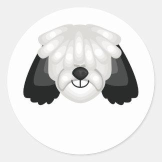 Polish Lowland Sheepdog Breed - My Dog Oasis Classic Round Sticker