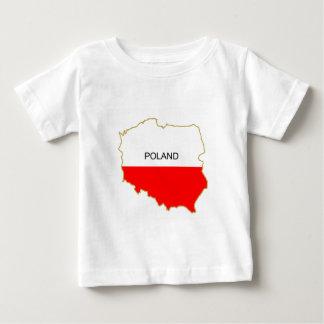 Polish Map Baby T-Shirt