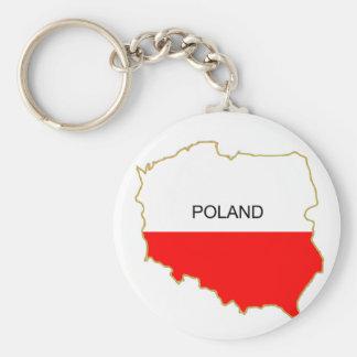 Polish Map png Keychain