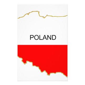 Polish Map Stationery
