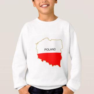 Polish Map Sweatshirt
