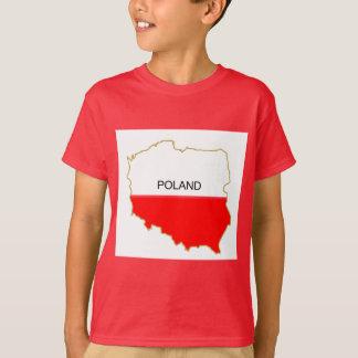 Polish Map T-Shirt