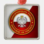Polish Medallion Christmas Ornaments