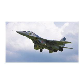 Polish MiG-29 version 9.12A from Base in Malbork Canvas Print