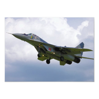 Polish MiG-29 version 9.12A from Base in Malbork Card