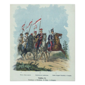 Polish National Cavalry Poster