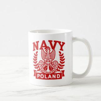 Polish Navy Classic White Coffee Mug