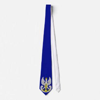 Polish Navy Emblem Neck Tie