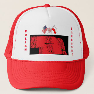 POLISH NEBRASKA TRUCKER HAT