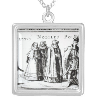 Polish Nobility Silver Plated Necklace
